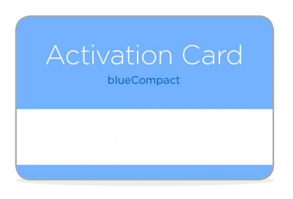 Ersatz-Aktivierungskarte
