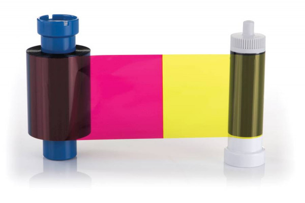 Farbband vollfarbig für Pridento Kartendrucker inkl. Reinigungsrolle