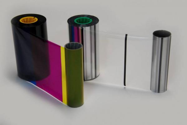 Farbband für Magicard Prima 4 Bundle mit YMCK und Retransfer-Trägerfolie