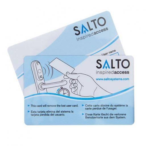 SALTO Mifare Dual-Smartcard mit Magnetstreifen