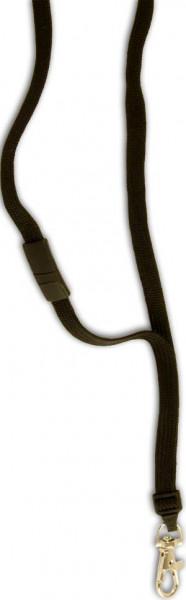 Premium Lanyard 10mm breit Karabinerhaken