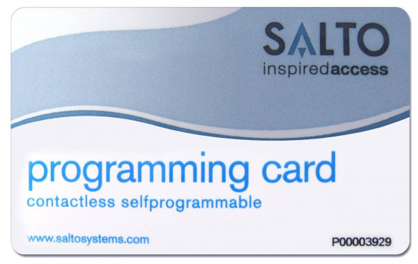 SALTO KS Maintenance Card