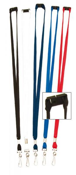 Lanyard 10mm breit Metalldrehhaken
