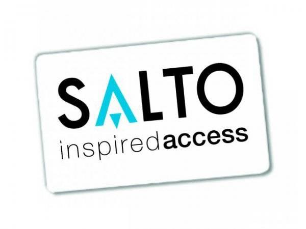 SALTO Kombikarte Mifare/DESFire EV1 und UHF für den SALTO Weitbereichsleser