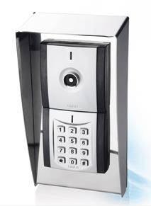 Modulare iButton RW Hotel Access Wandleser mit Wetterschutz und Codetastatur (offline und online)