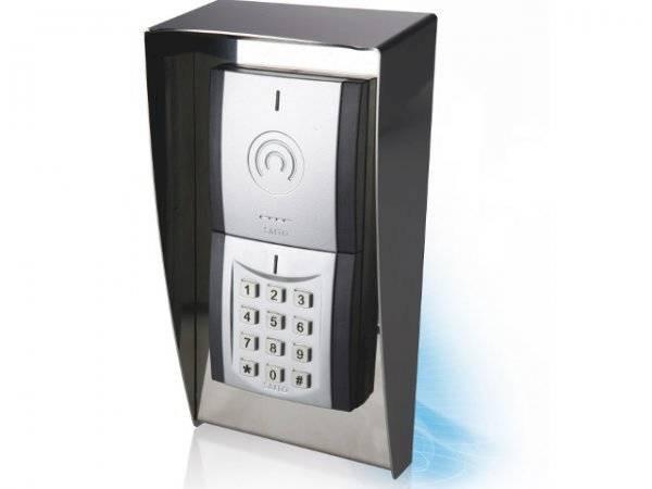 Modularer Legic advant und prime Hotel Access Wandleser mit Wetterschutz und Codetastatur (online)